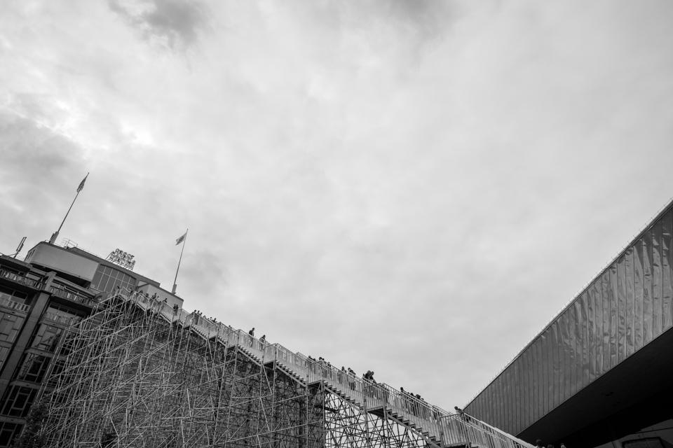 De Trap naar het dak van Groot Handelsgebouw