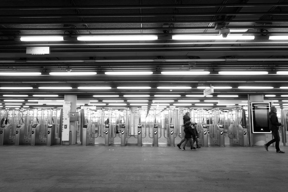 Metrostation Centraal Station