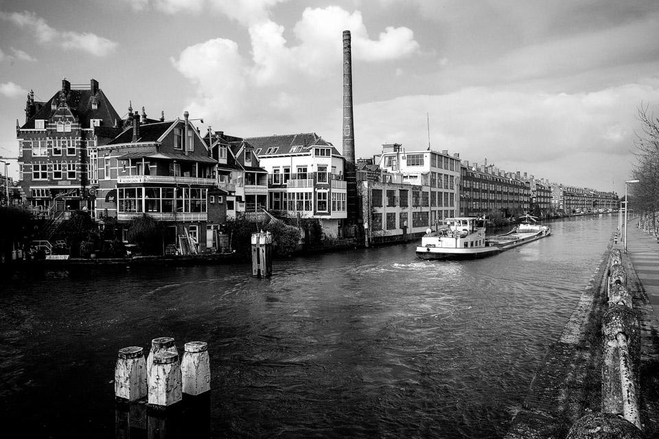 @ZW010 -0378-De Schiefabriek zwart wit Rotterdam foto