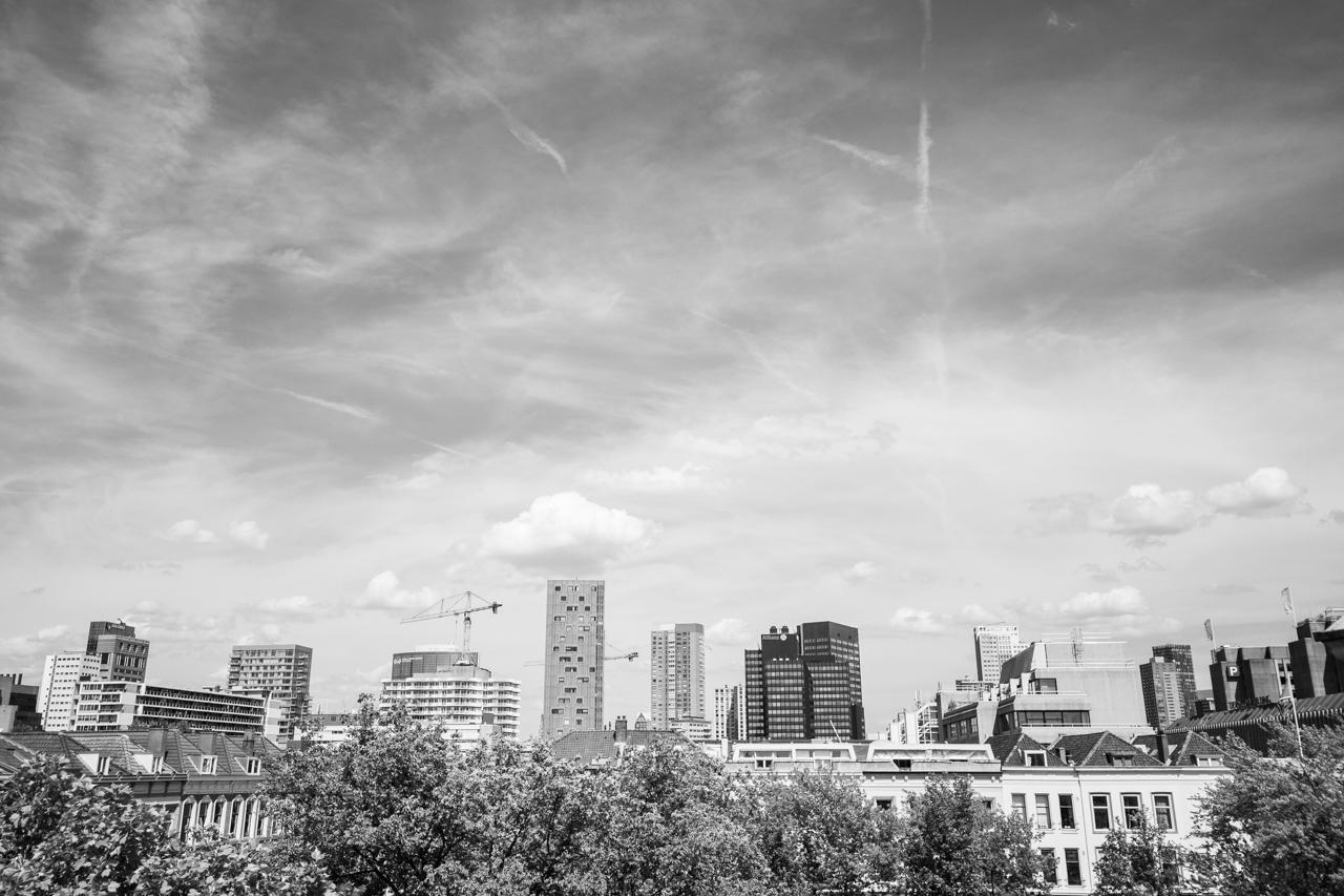 Heilige Boontjes in Rotterdam | Zwart Wit foto