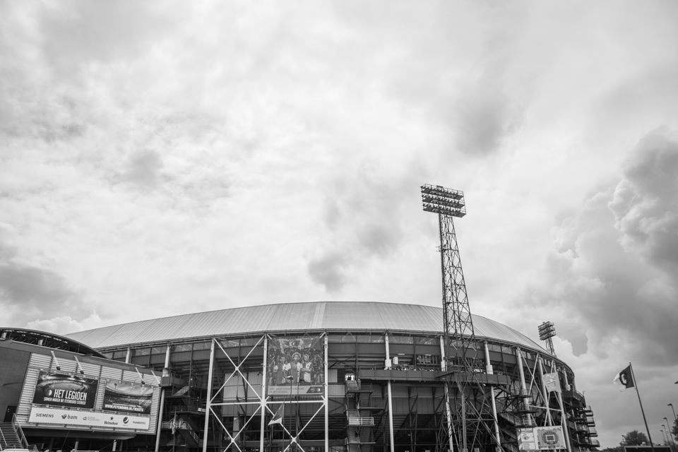 Feyenoord De Kuip Landskampioen
