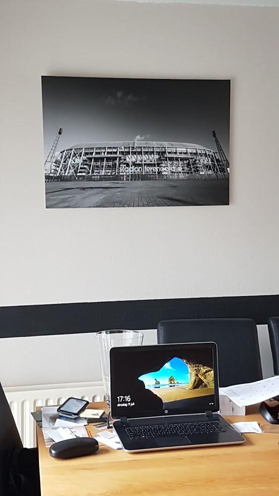 De Kuip Feyenoord foto op kantoor