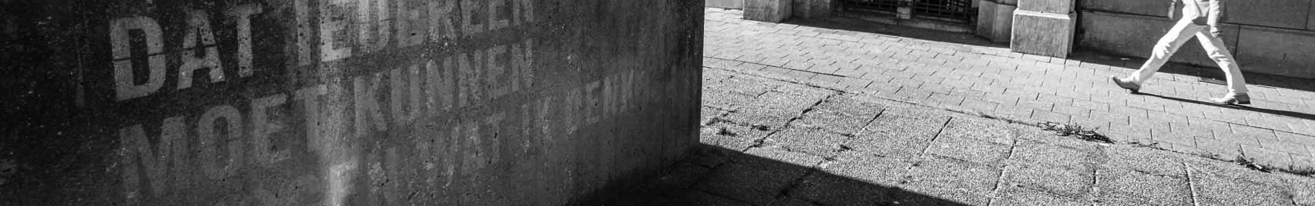 """Kunstwerk """"De nooduitgang"""" van Jan van Munster"""