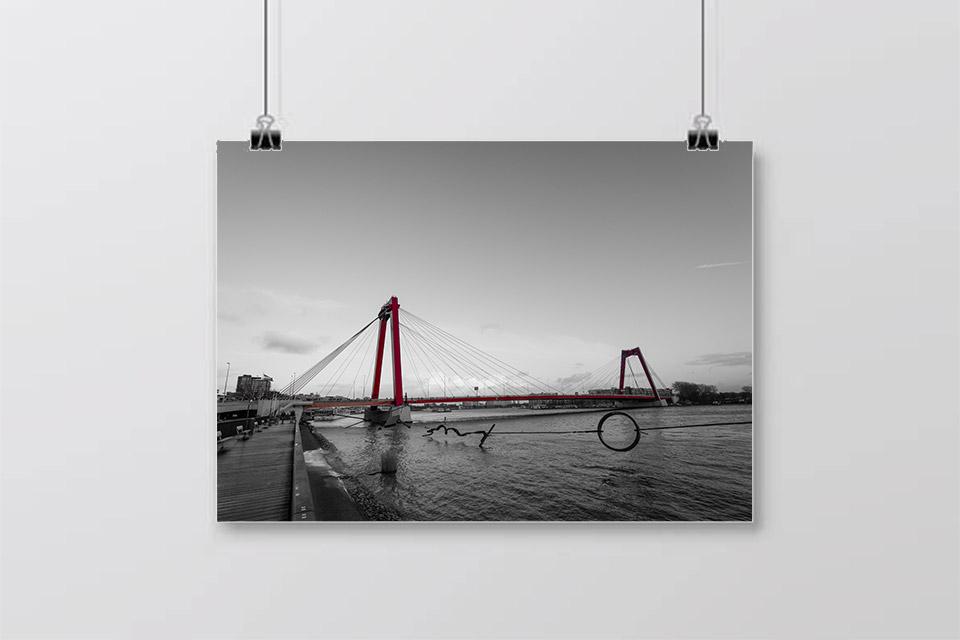 Bruggenloop Rotterdam Willemsbrug