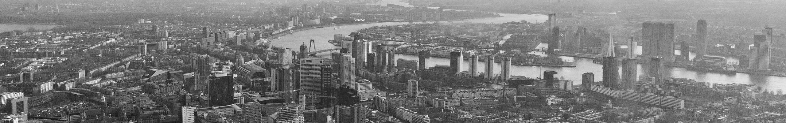 Rotterdam luchtfoto
