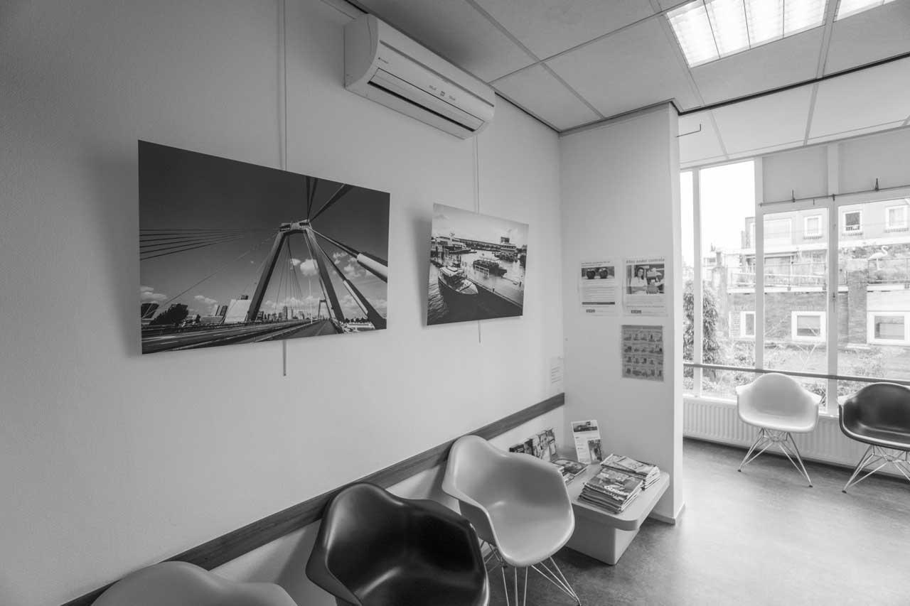 Foto Rotterdam wachtkamer