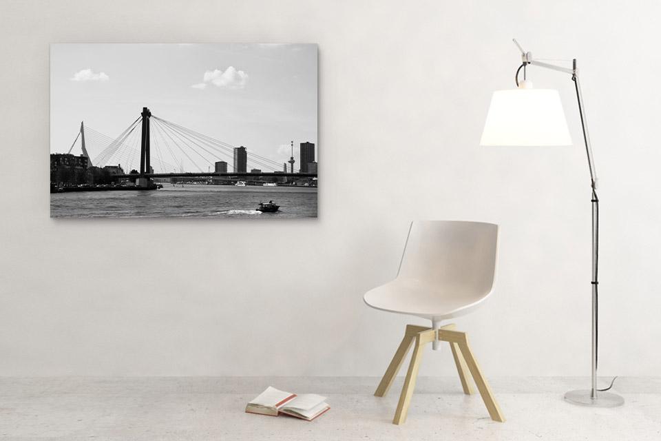Willemsbrug en Erasmusbrug Rotterdam